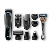 Braun Barbero MGK3080 - Set de afeitado multifunción