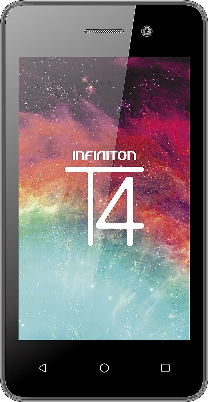 Smartphone INFINITON T4 (Negro), Quad-Core 1.0GHz, Pantalla 4.0 ...
