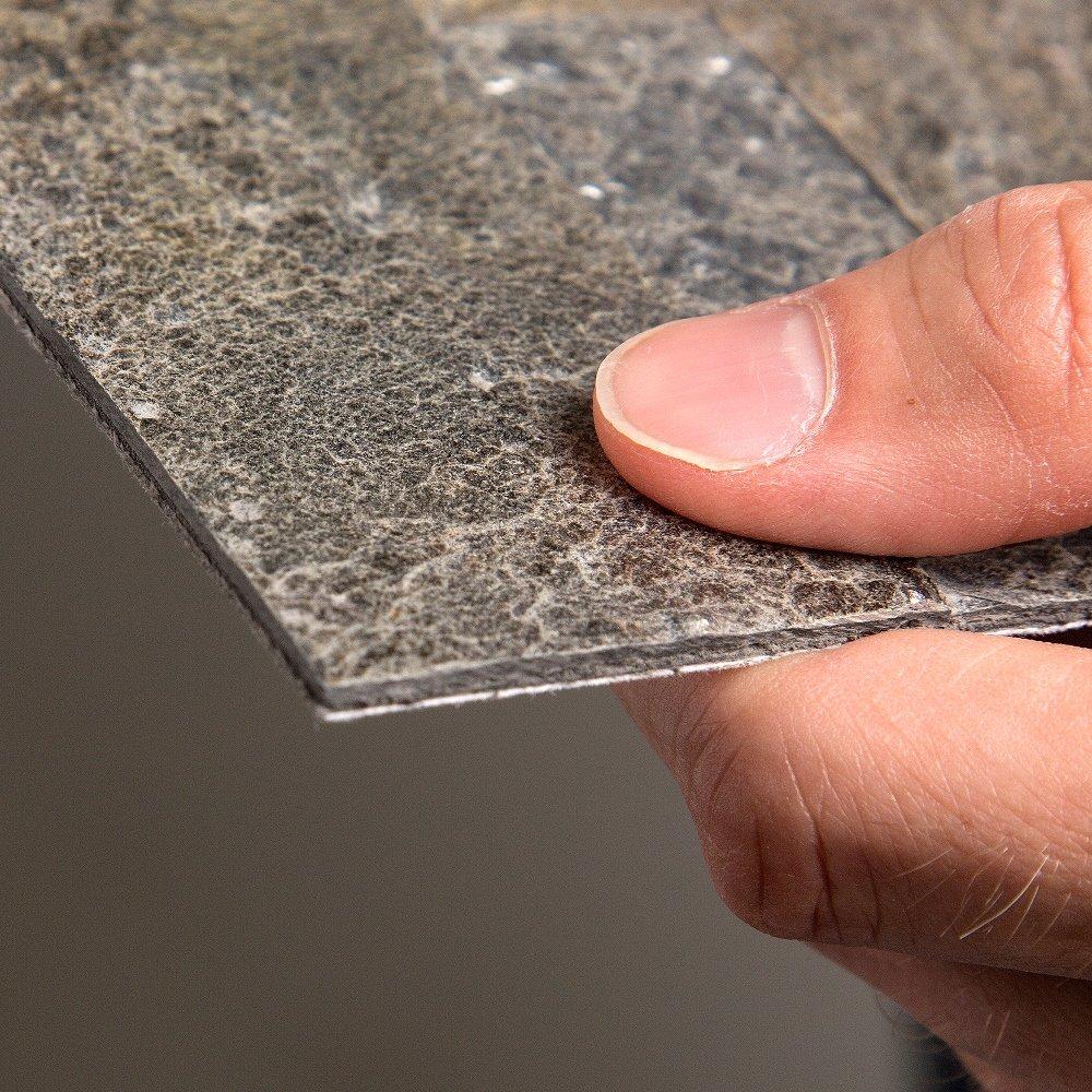 Aspect 6 x 24 inch autumn sandstone peel and stick stone backsplash - Amazon Com Aspect Peel And Stick Stone Overlay Kitchen Backsplash Mossy Quartz 5 9 X 23 6 X 1 8 Panel Approx 1 Sq Ft Easy Diy Tile Backsplash
