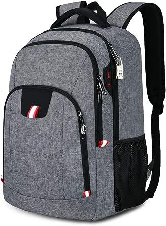 Laptop rugzak heren anti-diefstal rugzak voor 17 inch laptop schoolrugzak daypack
