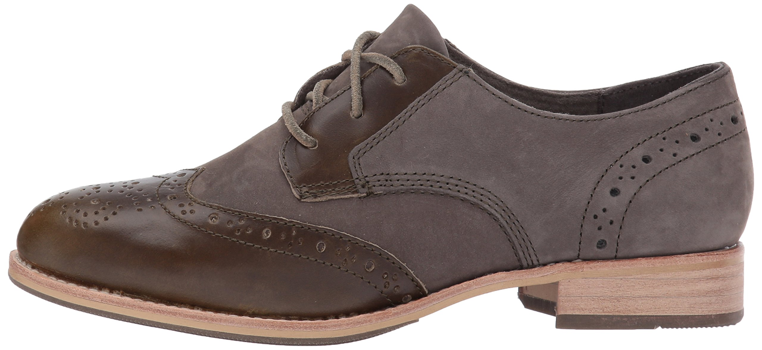 Caterpillar Women's Reegan II Lace up Leather Oxford, Olive, 5.5 Medium US by Caterpillar (Image #5)
