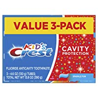 Crest Kid's Cavity Protection Toothpaste (children and toddlers 2+), Sparkle Fun...