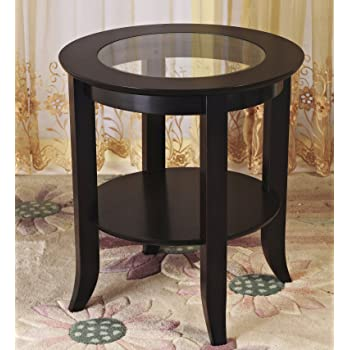 Unique Wedge Shaped End Table