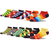 MAKABO Novelty Youth Colorful Men's Socks Bag Fun Funny Combed Cotton Cool Casual Ankle Socks