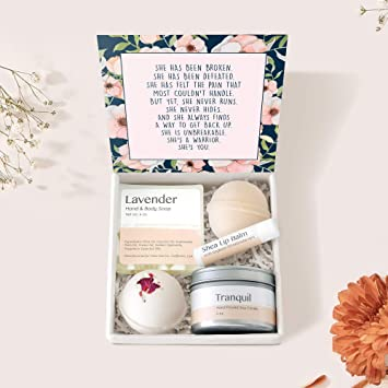 Thinking of You Gift Spa Set Get Well Soon Gift Box Relaxation Gift Cheer Up Gift Encouragement Gift Condolence Sympathy Gift