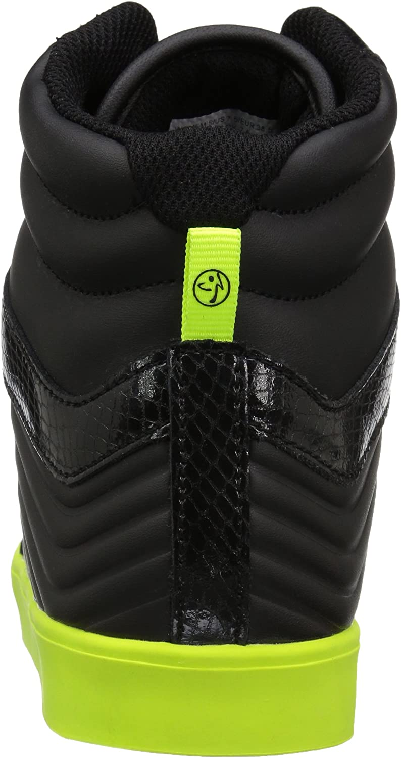 Zumba Womens Street Groove Training Workout Sneakers