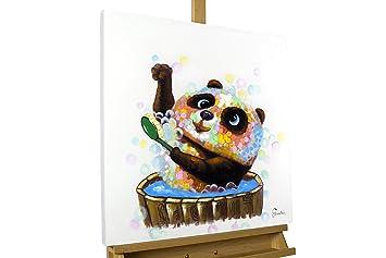 Kunstloft Tableau Peinture Sur Toile à Lhuile Toilette Dours