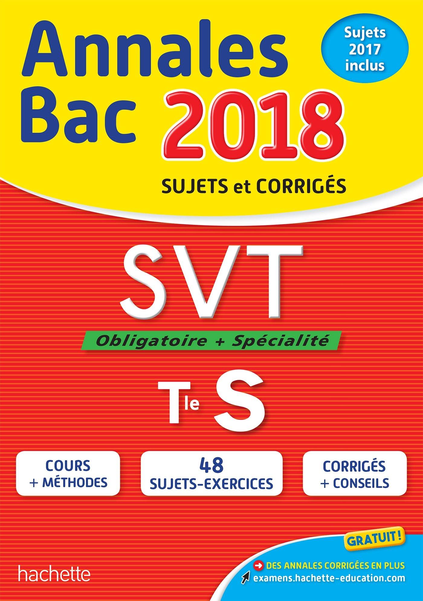 Annales Bac 2018 SVT Term S (Annales du Bac): Amazon.es: Patrice Delguel, Nathalie Fabien: Libros en idiomas extranjeros