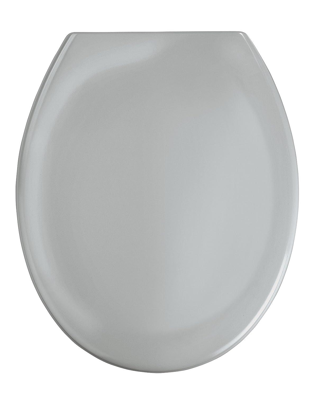 Wenko  Premium Ottana Thermoset Plastic Toilet Seat Light - Light grey toilet seat