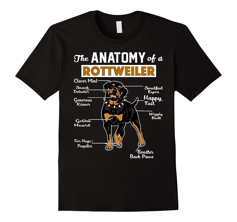 The anatomy of a rottweiler shirt goatstee for Custom dog face t shirt