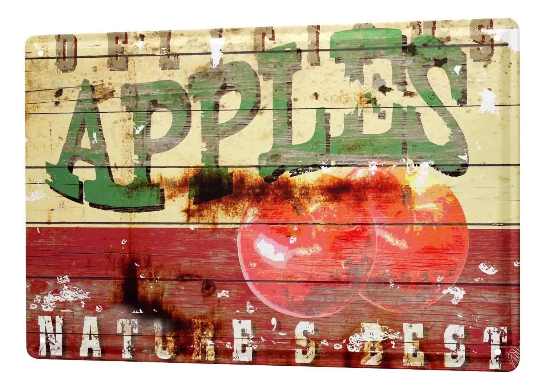 LEotiE SINCE 2004 M.A. Allen Retro Tin Sign U.S. decoration advertising American Apple Pie 20x30 cm Large Metal Wall Decoration Vintage Retro Classic Plaque