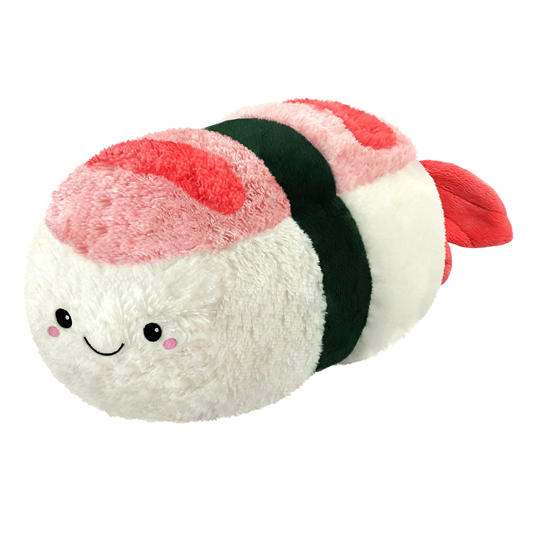 "Squishable/ Comfort Food Shrimp Sushi 15"" Plush"