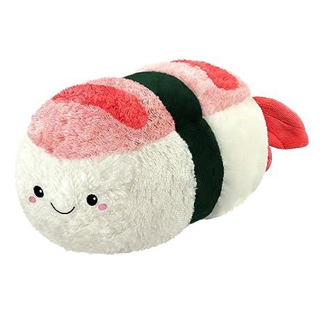 Amazon Com Squishable Comfort Food Shrimp Sushi 15 Plush Toys