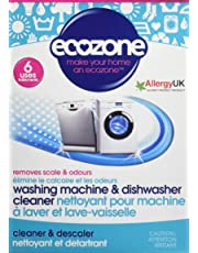 Ecozone Washing Machine & Dishwasher Cleaner, 1 Count
