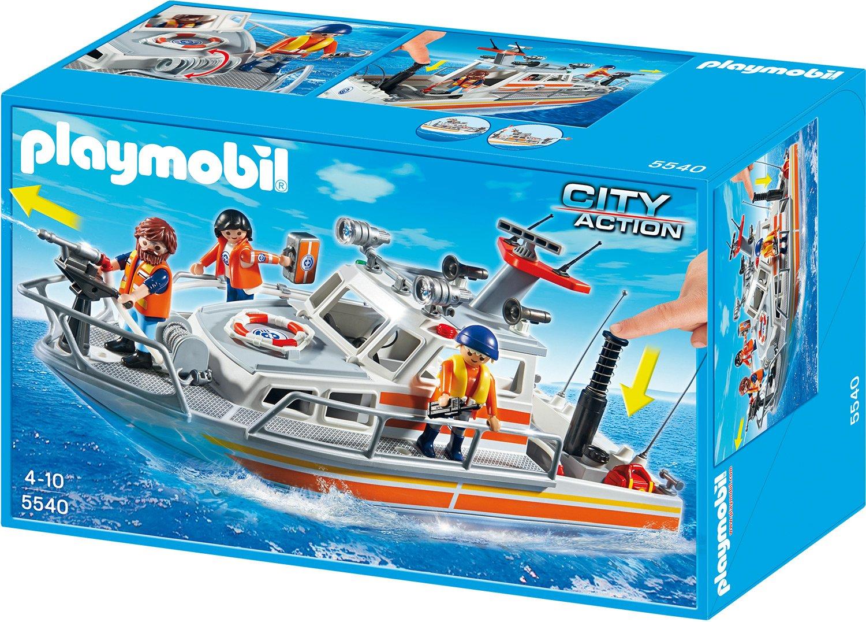 Playmobil Feuerwehr Zubehör - Playmobil Lösch-Rettungskreuzer