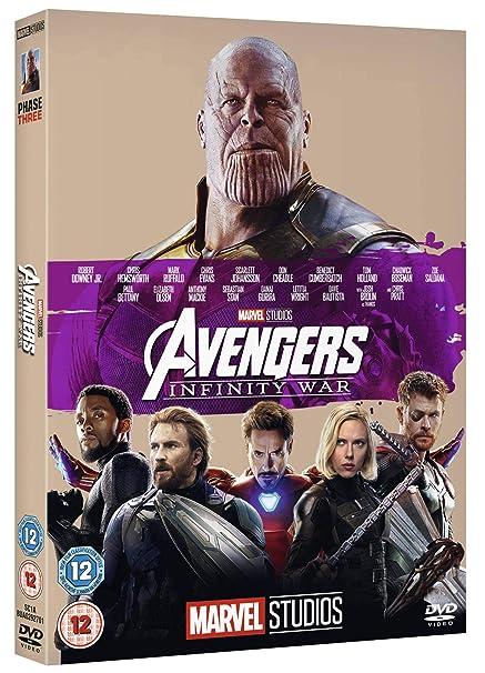 Avengers Infinity War [DVD] [2018]: Amazon co uk: DVD & Blu-ray