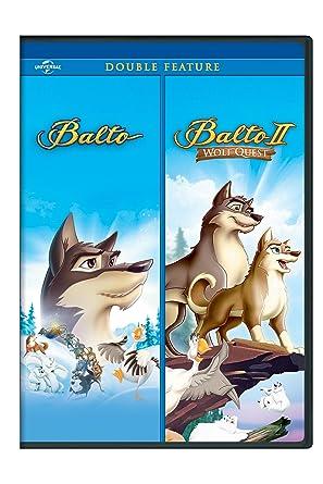 amazon com balto balto ii wolf quest double feature kevin