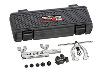 ARES Doble abocardador 70212 | para tubos de cobre, aluminio, suave línea de freno