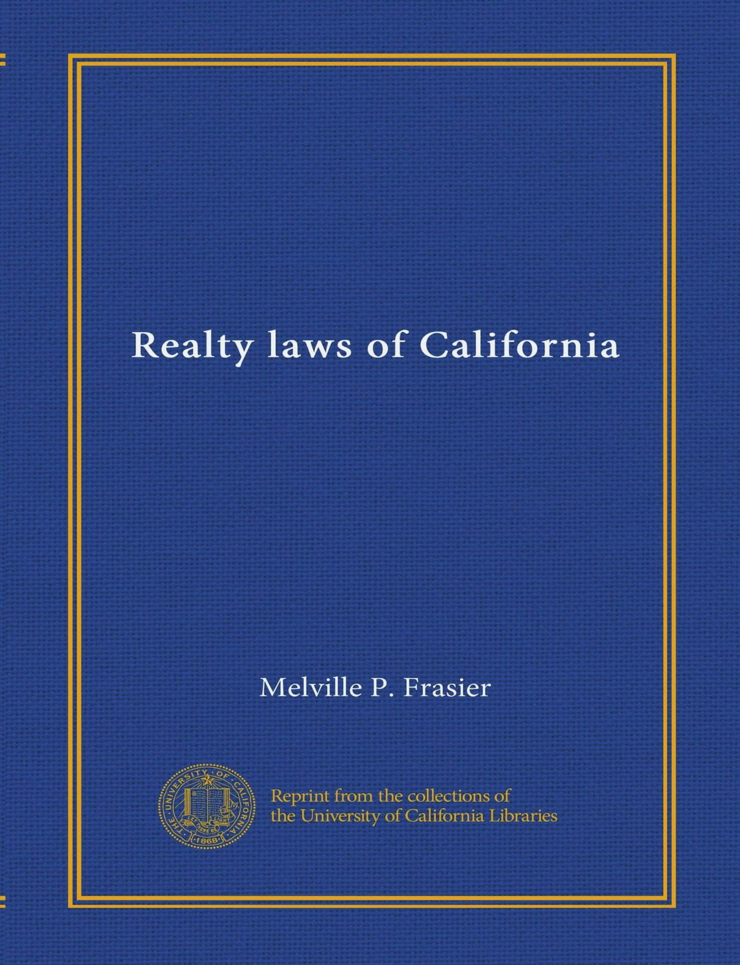 Download Realty laws of California ebook