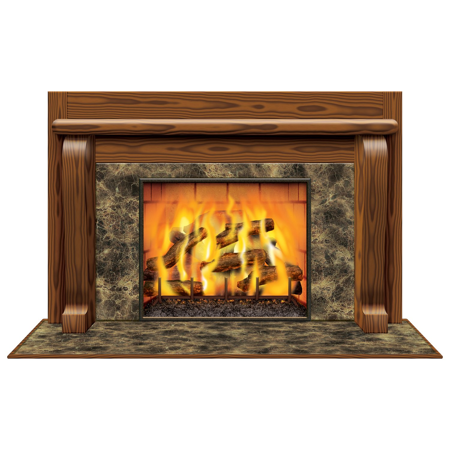amazon com fireplace insta view party accessory 1 count 1 pkg