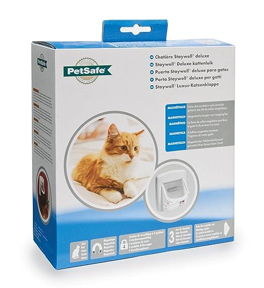 Petsafe - Chatière Magnétique De Luxe Staywell Pour Chat Avec
