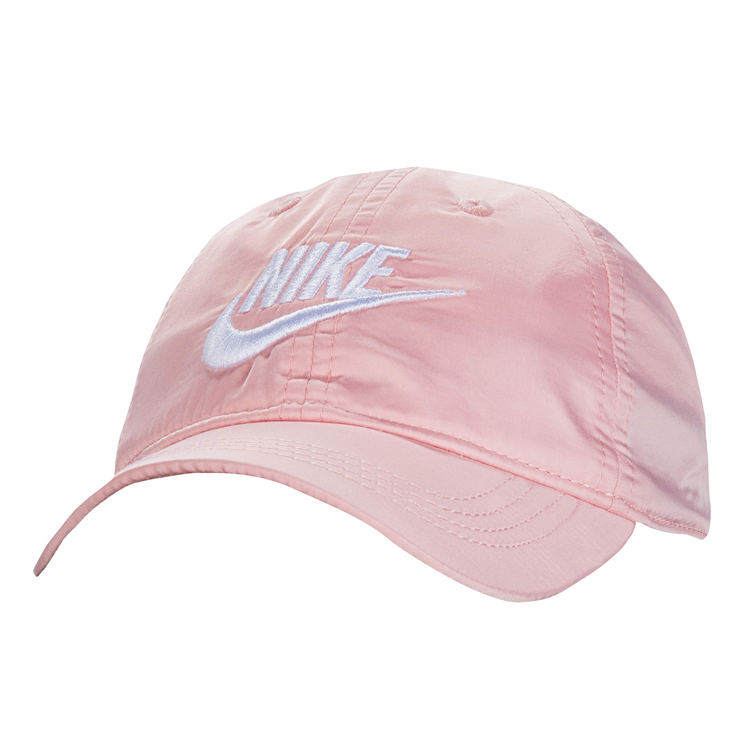 NIKE Children's Apparel Kids' Little Classic Ripstop Basball Hat, Bleached Coral Satin, O/S