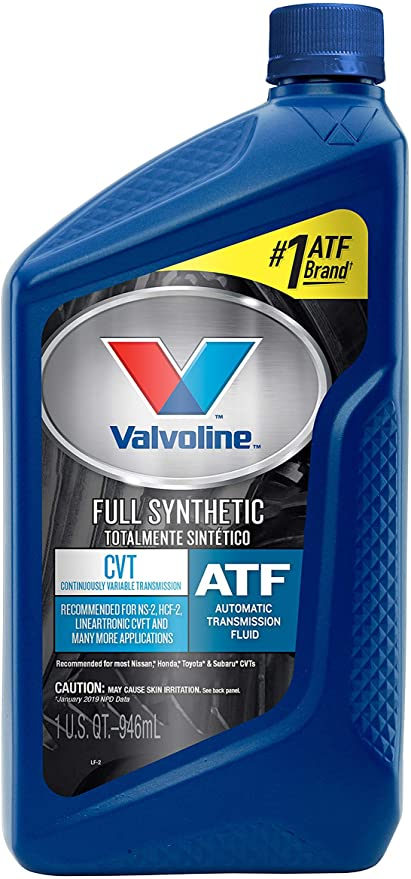 Valvoline CVT Full Synthetic Continuously Variable Transmission Fluid 1 QT