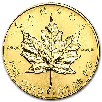 1986 CA Canada 1 oz Gold Maple Leaf BU 1 OZ Brilliant
