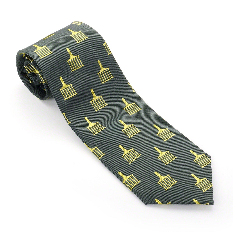 Allied grados masónico seda tejido corbata: Amazon.es: Jardín