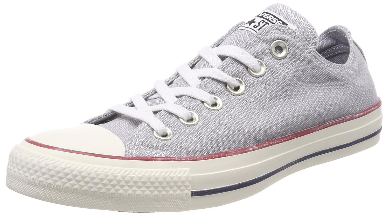 Converse Unisex-Erwachsene CTAS OX Wolf Sneaker  42 EU|Grau (Wolf Grey/Wolf Grey/White 097)