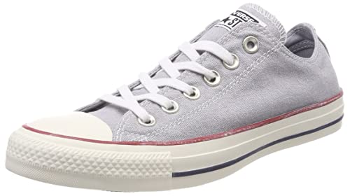 Unisex Adults CTAS Ox Wolf Grey White Trainers Converse Dn0TxL9k69