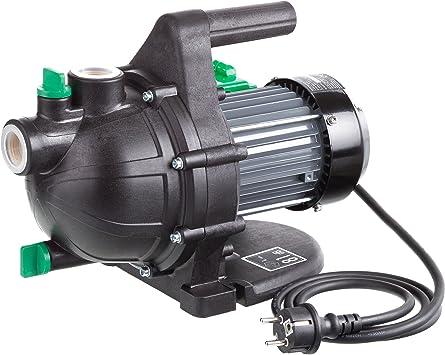Ultranatura Bomba de jardín GP-100, 800 W, caudal máximo de 3000 l/h, hasta 0,36 MPa (3,6 Bares) de presión: Amazon.es: Bricolaje y herramientas