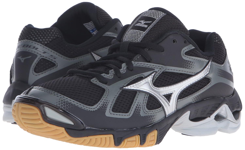 Mizuno Wave Bolt 5 Volejbalová obuv Černá obuv Černá Wave  stříbrná ... 02e83341cd8