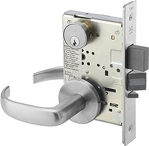 Yale PBR 8847FL 626 Heavy Duty Mortise Lockset, Lever, Apartment Corridor Lock