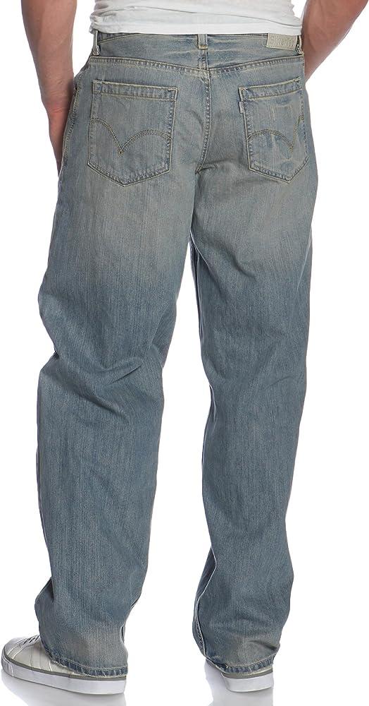 Amazon Com Levi S Silver Tab Baggy Jean Para Hombre 36 Cintura X 30l Pierna Clothing