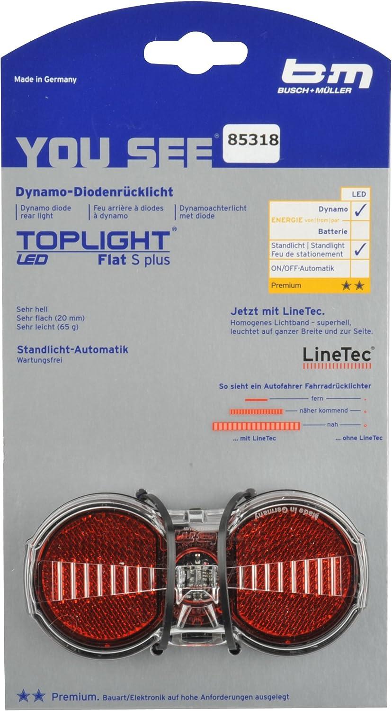 dynamo et catadioptre avec fonction on//off Eclairage vélo phare avant halogène