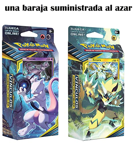 Pokemon JCC- Sol y Luna: Vínculos Indestructibles Baraja, Color (POSMUB01)