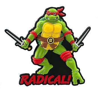 Teenage Mutant Ninja Turtles Raphael Imán PVC: Amazon.es ...