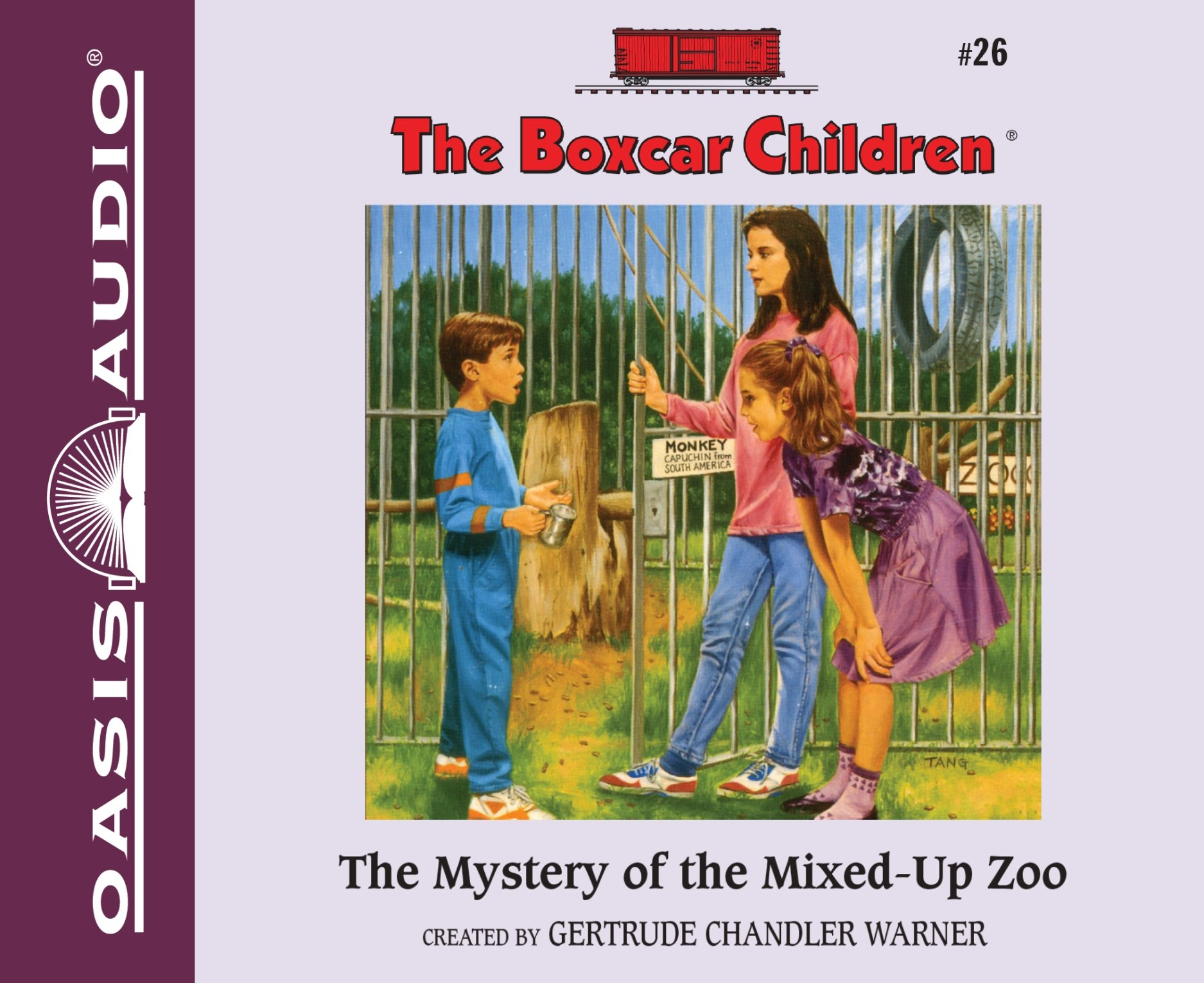 The Mystery of the Mixed-Up Zoo (Library Edition) (The Boxcar Children Mysteries) by Oasis Audio