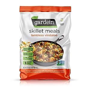 Gardein Skillet Meal Plant-Based Lambless Vindaloo, Vegan, Frozen, 20 oz.