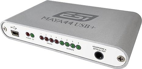 ESI MAYA44 - Interfaz audio USB (4 entradas y 4 salidas, aluminio)
