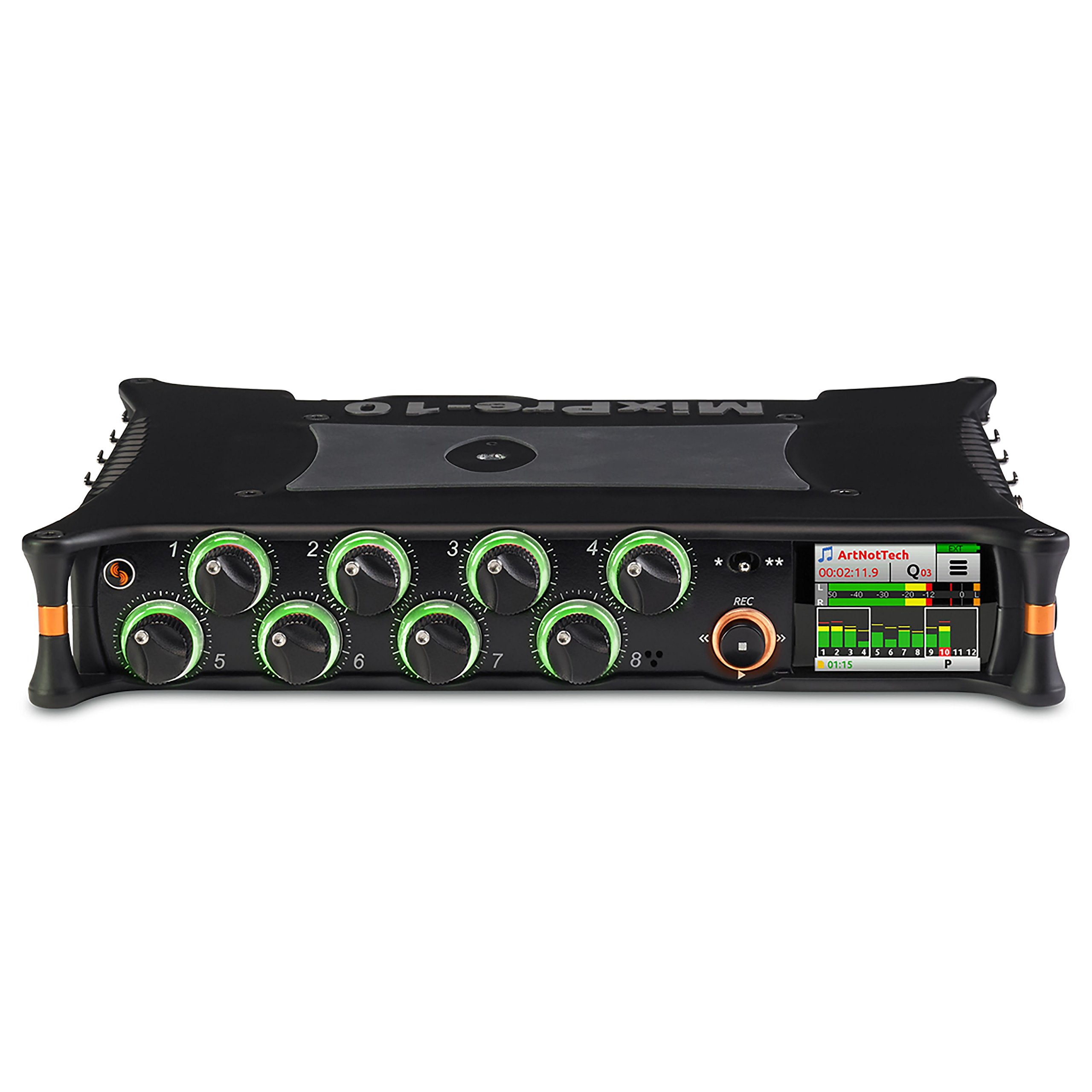 Sound Devices MixPre-10M Portable Multitrack Audio Recorder and USB Audio Interface with Overdub for Musicians
