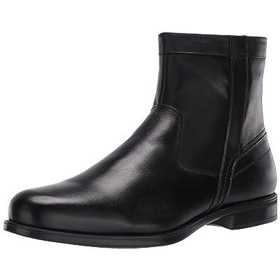 Florsheim Men's Medfield Plain Toe Zip Boot Fashion, black, 8.5 Wide: Shoes