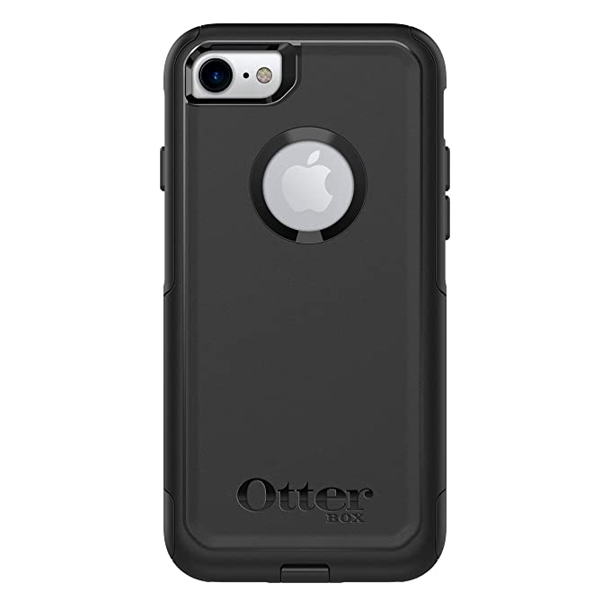 reputable site 6c554 c2a2d Otterbox 77-54032 OtterBox Commuter Series Case for iPhone 8 & iPhone 7  (NOT Plus) - Frustration Free Packaging - Black (Renewed)