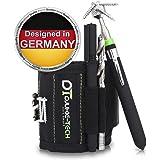 Djukie-Tech Magnetarmband für Handwerker + Magnetheber - Werkzeug Armband - Magnet Armband zum Halten von Schrauben, Nägel und Kleinteile- perfektes Geschenk für Männer - Handwerker Geschenke