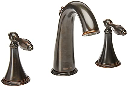 Kohler K3104m2bz Finial Traditional Widespread Bathroom Sink Faucet