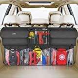 Oasser Back Seat Trunk Organizer Car Organizer Storage Hanging Bag for SUV/MPV/CAN 600D Oxford Cloth with 6 Pockets E6