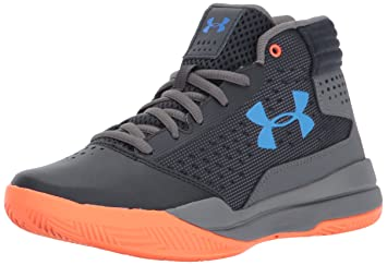 Under Armour UA BGS Jet 2017, Chaussures de Basketball Garçon, Bleu (Team Royal), 36 EU