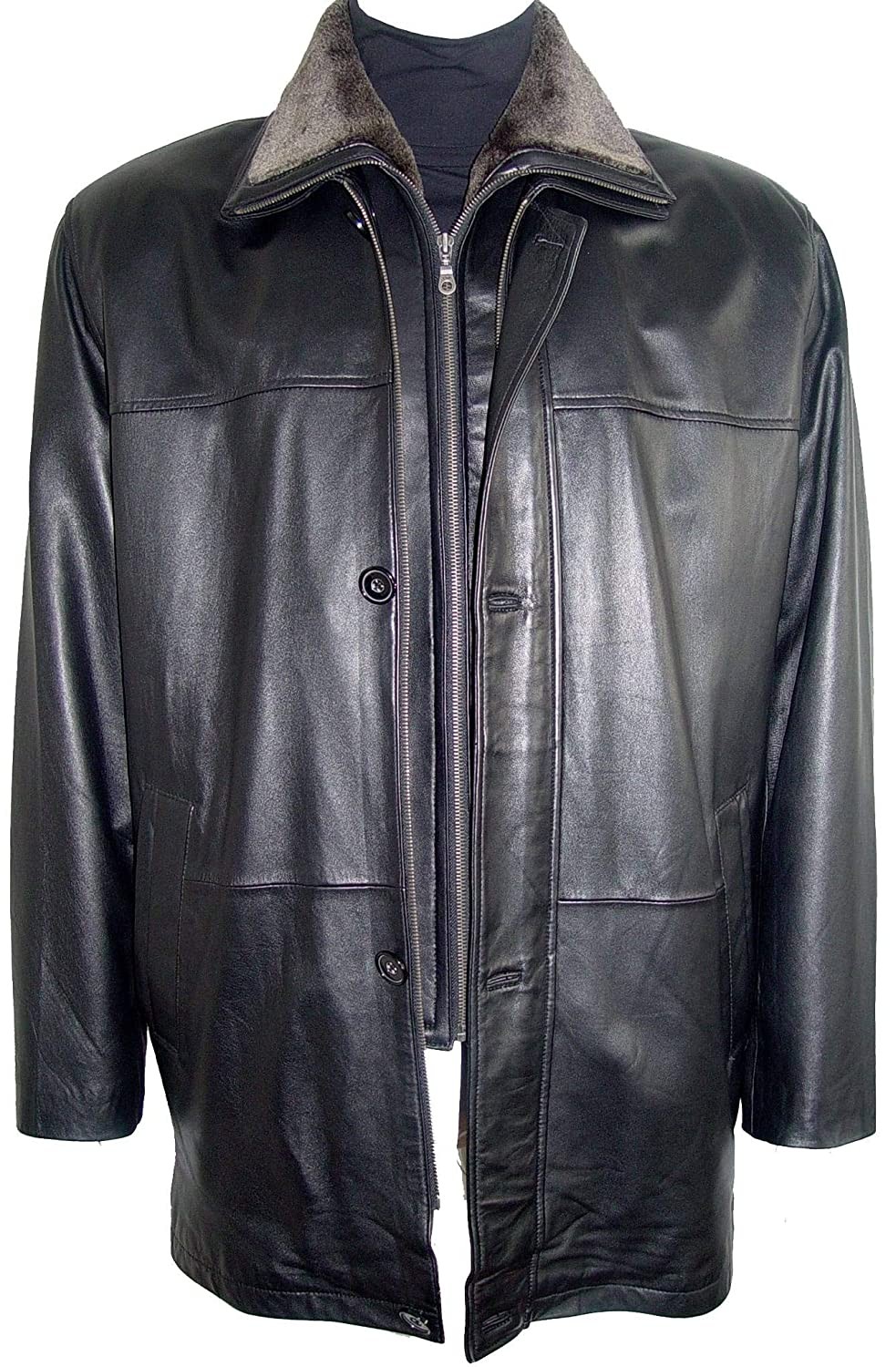 Paccilo 2001 Big Man Leather Jacket Business Clothing Coat Tall 2001prmphrzblz