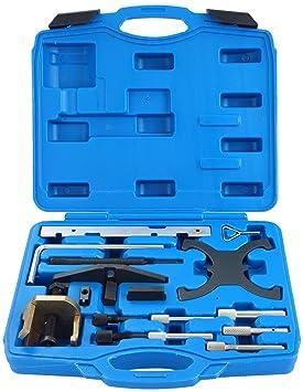 DASBET - Kit de Herramientas de combinación de alineación y Cierre de Cadena para Motores de Gasolina y diésel Ford Mazda: Amazon.es: Coche y moto